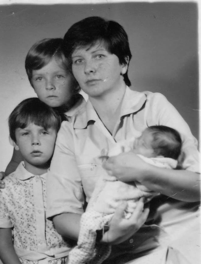 first passport photo
